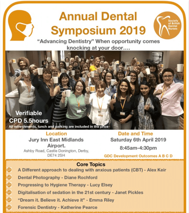Society of British Dental Nurses Annual Symposium